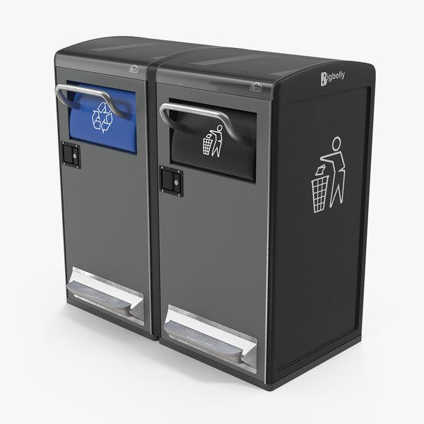 bigbelly general waste recycling model