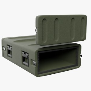 field rack mount case 3D