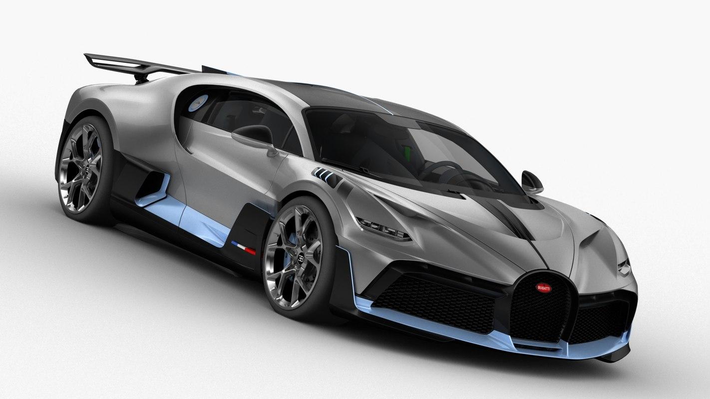 3D bugatti divo 2019 model
