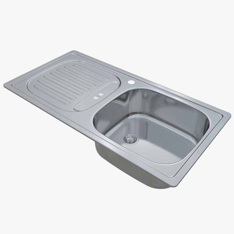 3D sink blanco flex