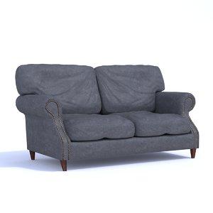 luxury antique sofa 3D model