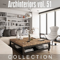 archinteriors vol 51 interiors 3D model