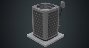 air conditioner 3a 3D