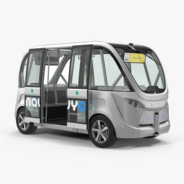 3D autonomous electric vehicle navya
