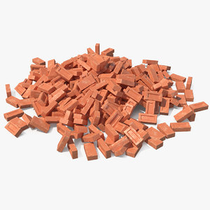 3D bunch bricks model