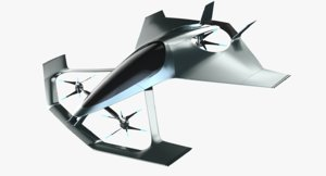 volante vision 3D model