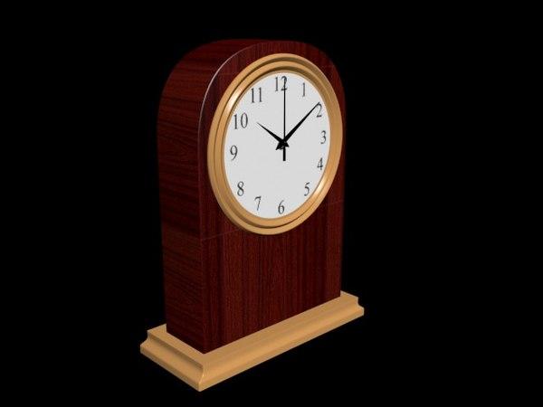 table clock model