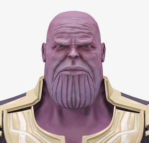 3D model thanos infinity war