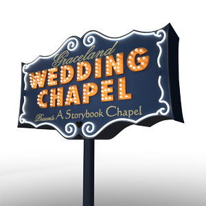 graceland chapel 3D model