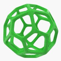holey sphere 3D model