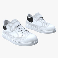 3D teenage sneakers model
