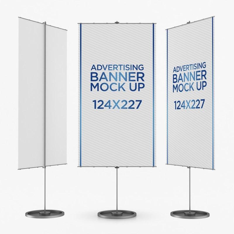 banner advertising 3D