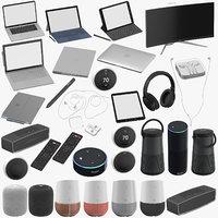 3D electronics black samsung