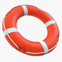 life saving buoy 3D