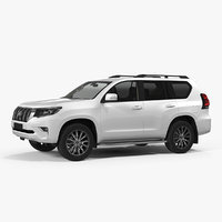 toyota prado 2018 simple model