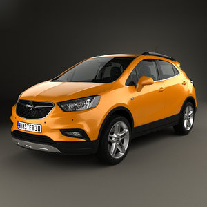 opel x mokka 3D model