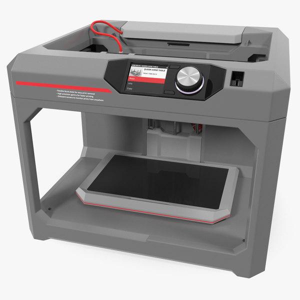 printer generic 3D model
