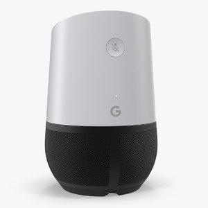 3D home assistant google model
