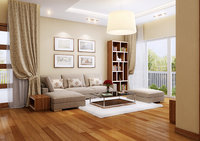 apartment-livingroom celling-light 3D