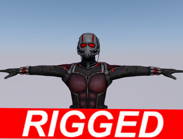 3D model ant man