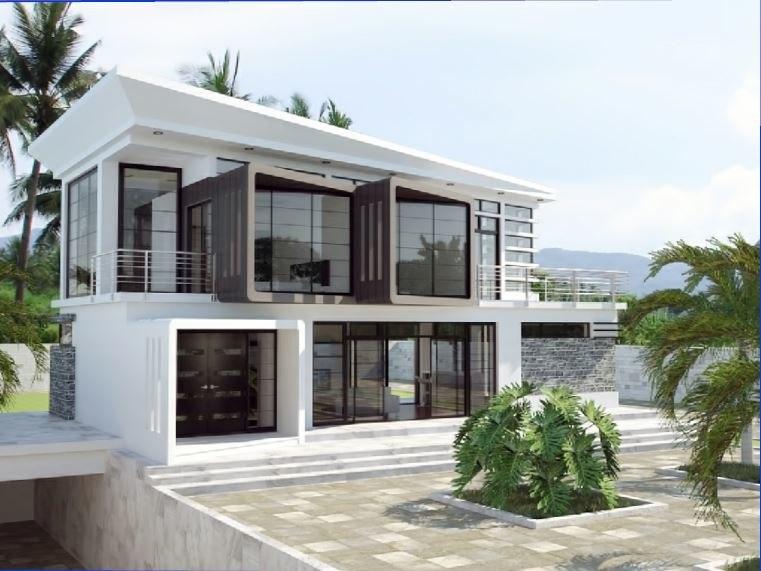 3D villa 2 model