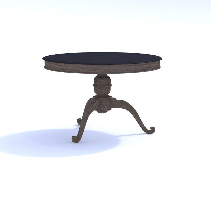 3D oka karlstad dining table