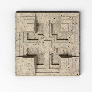 storer house tiles 3D model