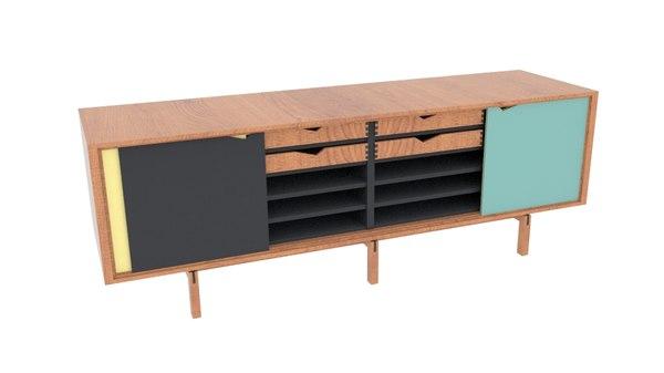 3D brodrene andersen bykato sideboard
