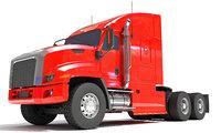 freightliner tractor truck 3D model
