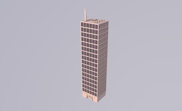 edificios rascacielos arquitectura 3D model