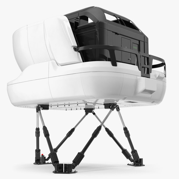 3D airplane simulator machine generic model