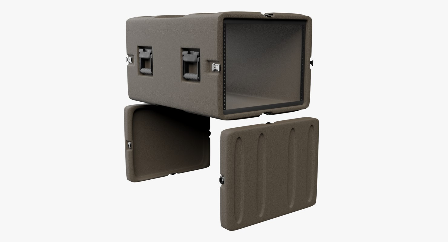 field rack mount case model