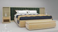 ripley bed set visionnaire 3D model