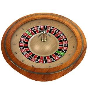 roulette casino wheel 3D
