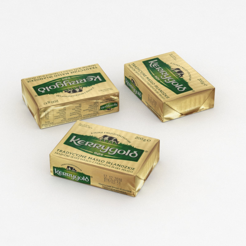 butter 3D model