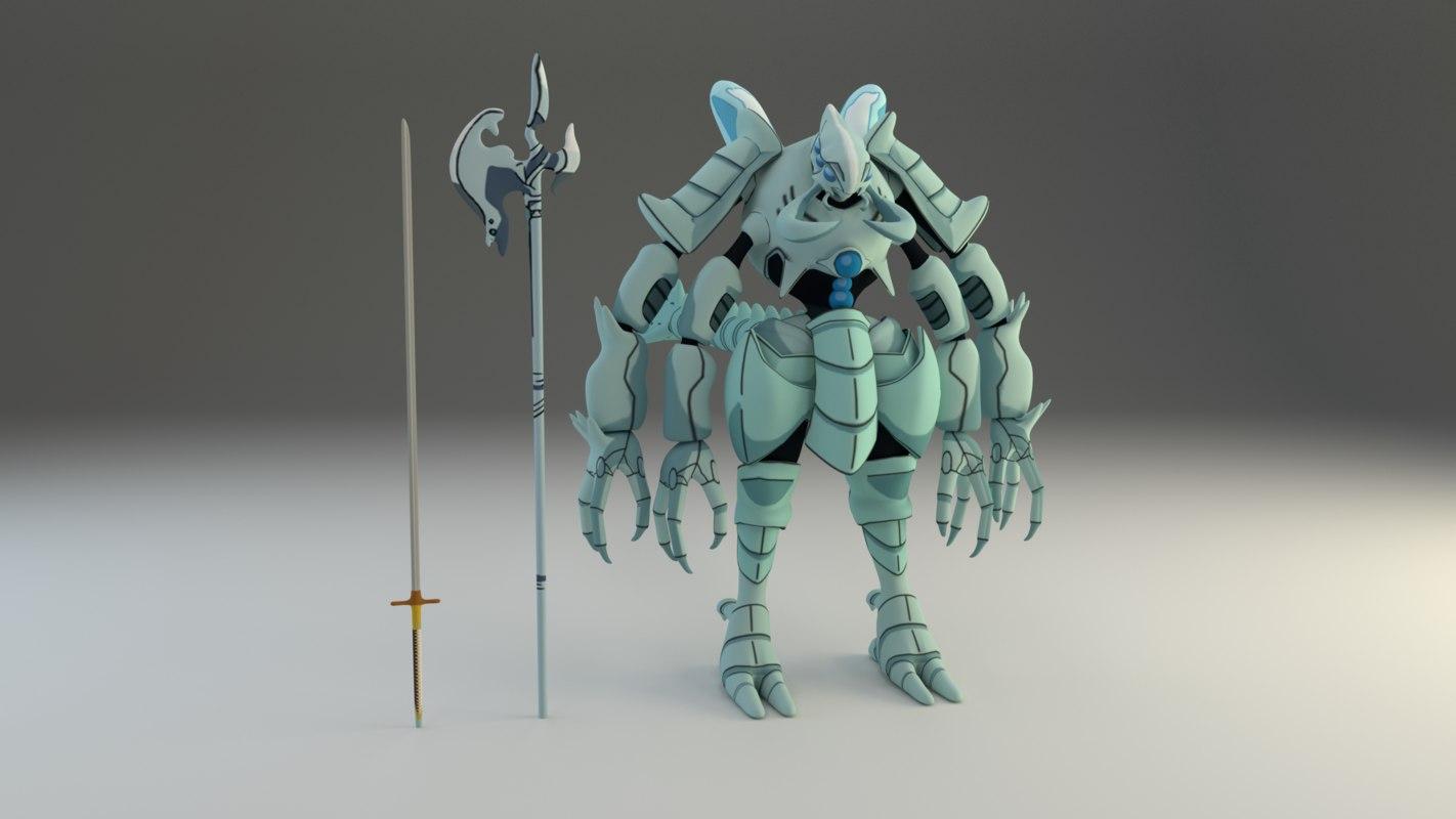 cocytus overlord blender 3D model