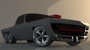 3D custom truck