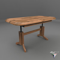 table biformer coralick 3D