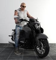 vin diesel motorbike model