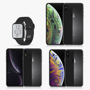 apple 2018 set 1 3D model