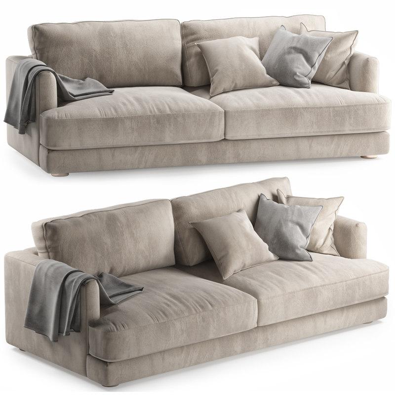 3D model haven sofa interior seat