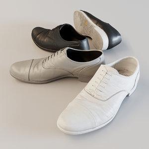 corona shoes 3D model
