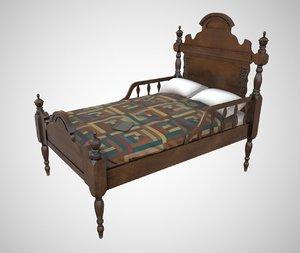bed book pbr model