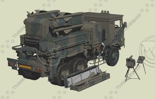 missile sam 3D model