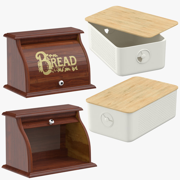 3D model bread box breadbox