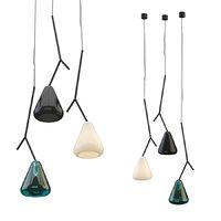 suspension lamp maija puoskari 3D model