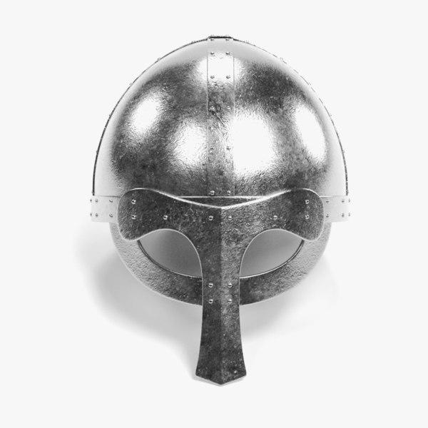 viking helmet 3 model