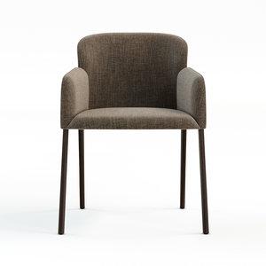 3D chair busnelli model