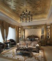 3D master bedroom