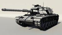 3D hi tank m60